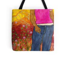 Just Out for a Stroll Tote Bag