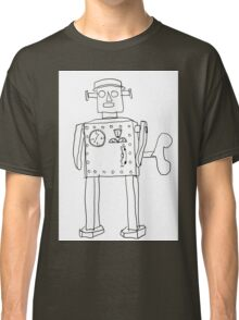 robot vintage toy cute art Classic T-Shirt