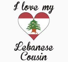 I Love My Lebanese Cousin Kids Tee