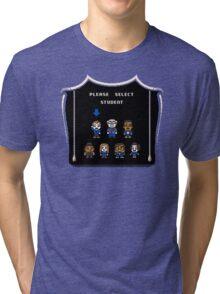 PLEASE SELECT STUDENT Tri-blend T-Shirt