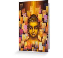 Buddha. Rainbow body Greeting Card