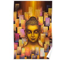 Buddha. Rainbow body Poster