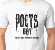 POETS Day Black Unisex T-Shirt