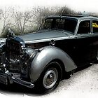 My Loaner Chariot............... '48 Bentely... by Larry Llewellyn
