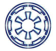 Galactic Empire Emblem (Alkali Scheme) by GekiDesign