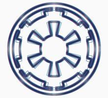 Galactic Empire Emblem (Alkali Scheme) Kids Clothes