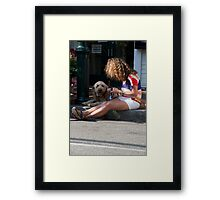 """Same """"DO Framed Print"""