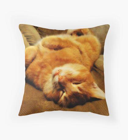 Over Easy Throw Pillow
