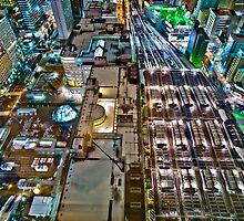 After Snow , Sapporo JR station by sxhuang818