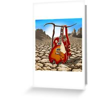 Soft Guitar SQ Greeting Card