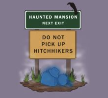 Beware of Hitchhiking Ghosts Kids Clothes