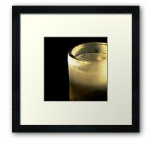 A Cold One Framed Print