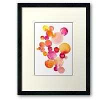 Pink Bubblegum Framed Print
