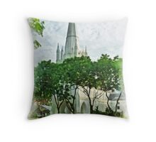St Andrew's Cathedral Throw Pillow