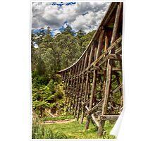 Trestle Bridge Poster