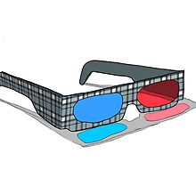 3d glasses vintage  by gmm2000