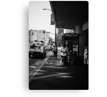 Urban display Canvas Print