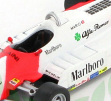 Mario Andretti and the Alfa Romeo 179c F1 Car 1981 Sticker