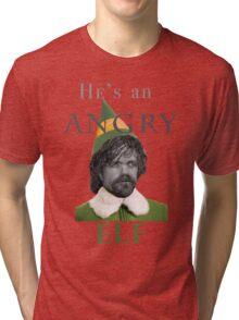 Angry Elf  Tri-blend T-Shirt
