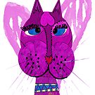 Diva Kitty by Ginny Luttrell