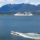 Boating extremes, Vancouver Harbour, Canada, 2012. by johnrf