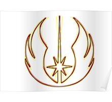 Jedi Order Emblem (Acid Scheme) Poster