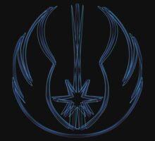 Jedi Order Emblem (Alkali Scheme) Kids Clothes
