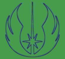 Jedi Order Emblem (Alkali Scheme) One Piece - Short Sleeve