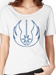 Jedi Order Emblem (Alkali Scheme) Women's Relaxed Fit T-Shirt