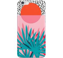 Whoa - palm sunrise southwest california palm beach sun city los angeles hawaii palm springs resort decor iPhone Case/Skin