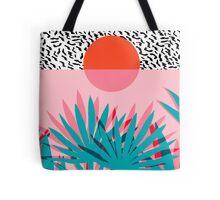 Whoa - palm sunrise southwest california palm beach sun city los angeles hawaii palm springs resort decor Tote Bag