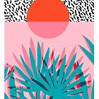 Whoa - palm sunrise southwest california palm beach sun city los angeles hawaii palm springs resort decor by wackadesigns