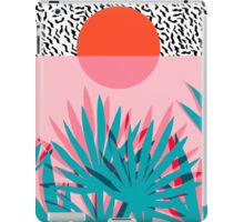 Whoa - palm sunrise southwest california palm beach sun city los angeles hawaii palm springs resort decor iPad Case/Skin