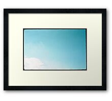 A Kite In The Sky Framed Print