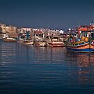 Bugibba Quay Island of Malta by Edwin  Catania