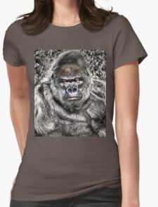 Gorilla - Who's The Daddy Womens Fitted T-Shirt