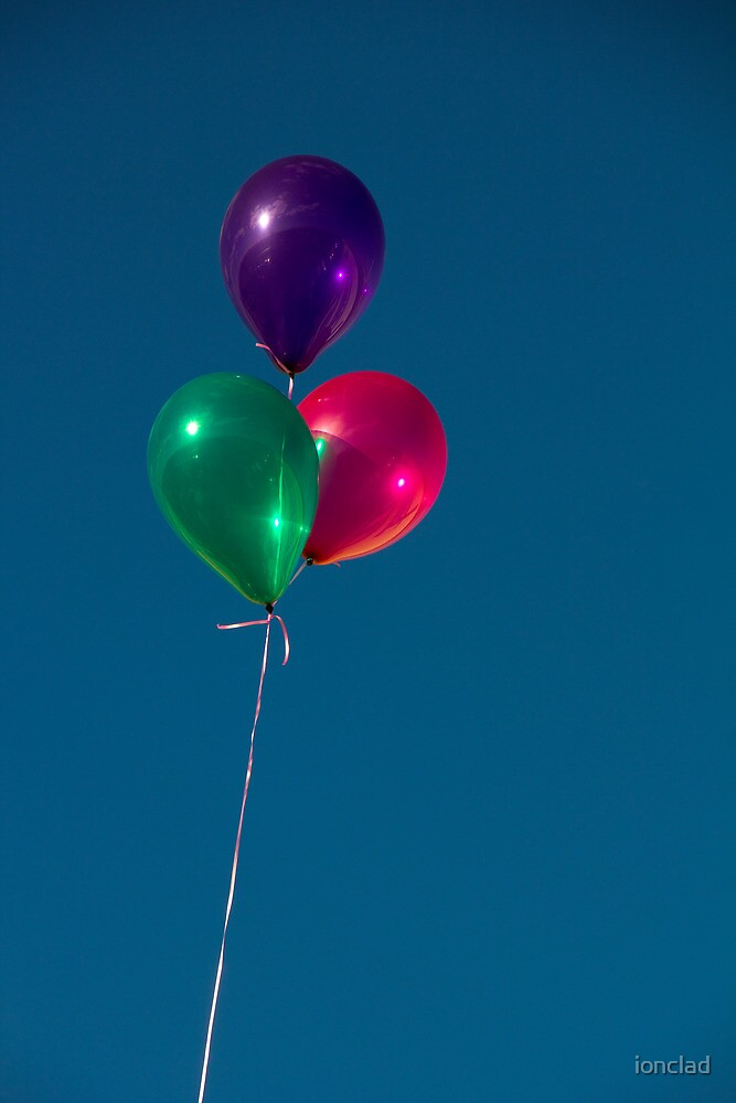 three balloons. by ionclad