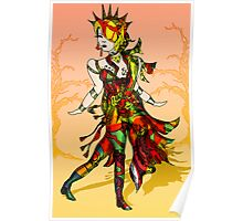 Colourful Figure drawing Poster