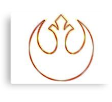Rebel Alliance Emblem (Acid Scheme) Metal Print