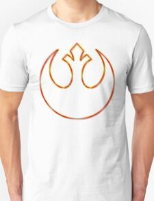 Rebel Alliance Emblem (Acid Scheme) T-Shirt