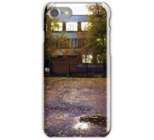 schoolyard. twilight iPhone Case/Skin