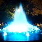 The Blue Fountain Two by Sherene Clow