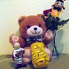TEDDY, MRS: BUMMBLE-BEE & LADYBUG by Heidi Mooney-Hill