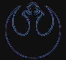 Rebel Alliance Emblem (Alkali Scheme) One Piece - Short Sleeve