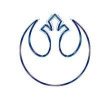 Rebel Alliance Emblem (Alkali Scheme) Photographic Print
