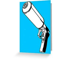 Spray Gun Greeting Card