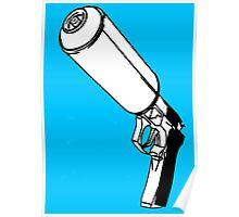 Spray Gun Poster