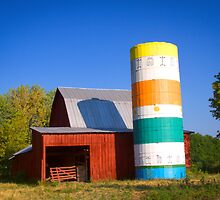 Barn & Silo by David Owens