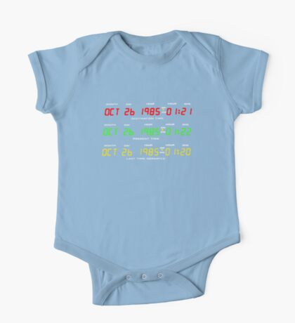 Time Circuits One Piece - Short Sleeve