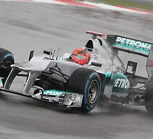Michael Schumacher - Mercedes F1 W03 by MSport-Images